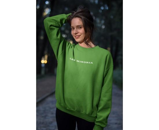 Les Minoria Green Go Sweat